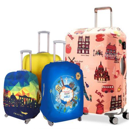 Custom Dust Proof Luggage Covers - Custom Dust Proof Luggage Covers