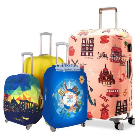 Custom Dust Proof Luggage Covers - Custom Dust Proof Luggage Covers
