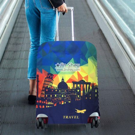 personalized travel protector suitcase covers