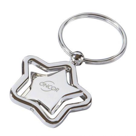 Custom Spinning Keychains - Spinning Custom Logo Keychains