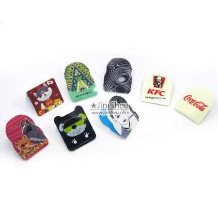 custom logo cell phone magic stickers