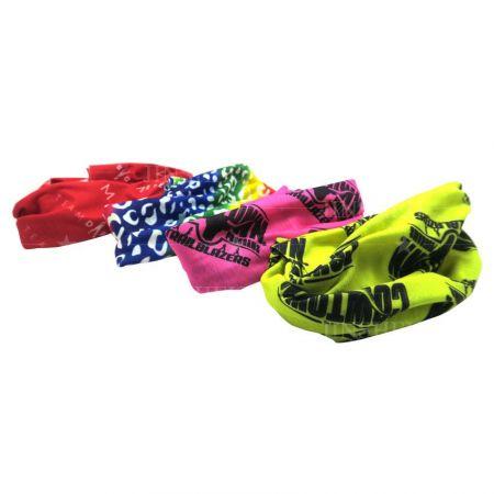 custom multifunctional seamless headwear