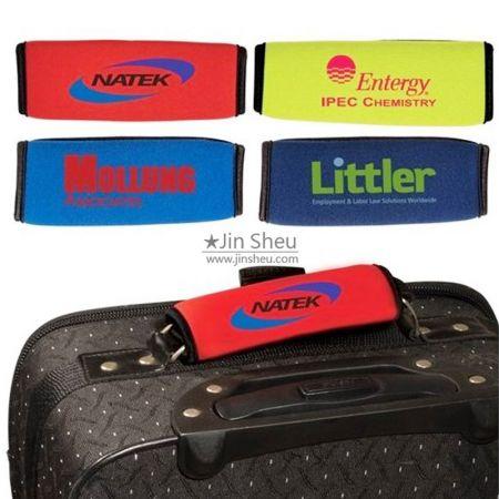 Neoprene Luggage Handle Wraps - Neoprene Luggage Handle Wraps