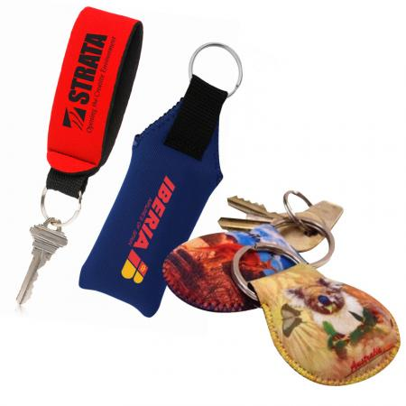 Floating Neoprene Keychains - Floating Neoprene Keychains