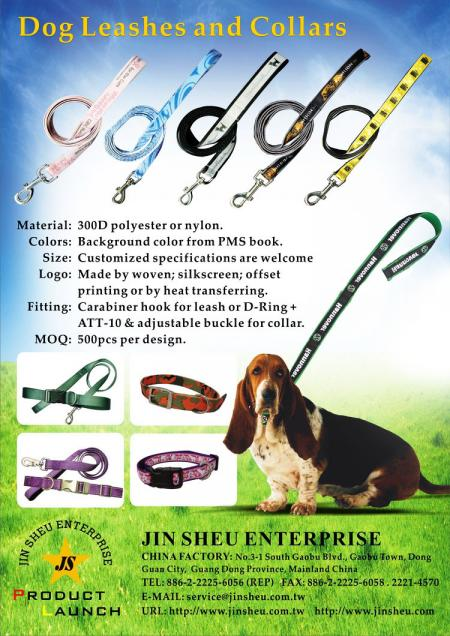 Personalized Dog Leashes and Collars - custom made dog leads pet leashes