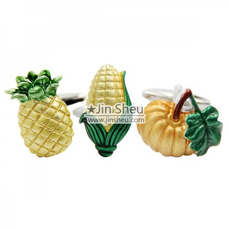 Vegetable Cufflinks - Vegetable Cufflinks