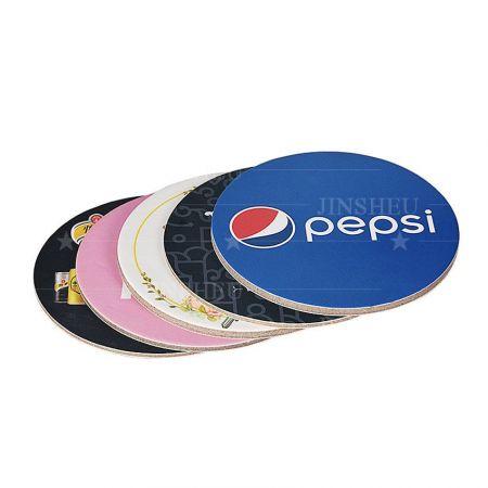 Custom Printed Round Paper Cardboard Coasters - Custom Printed Round Paper Cardboard Coasters