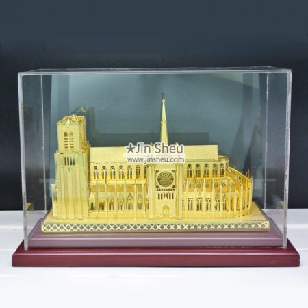 paris church building models