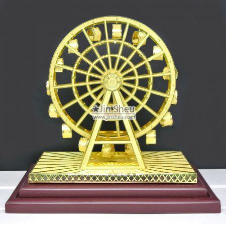 Ferris Wheel Brass Souvenir Gift - Ferris Wheel Souvenir Gift