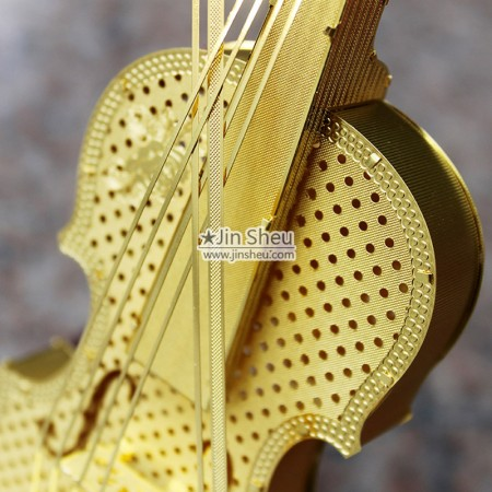 Metal Violin Decoration Model - Metal Violin Decoration Model