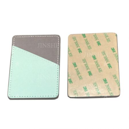promotional PU leather cellphone card wallets