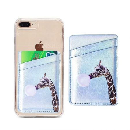 wholesale custom leather cellphone card wallets