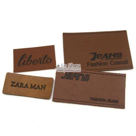 Custom Leather Labels - Custom Leather Labels for Hat