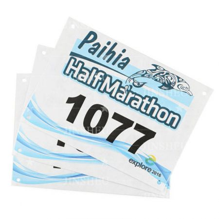 custom made running bib numbers