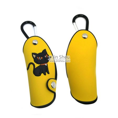 branded rubber key cover supplier