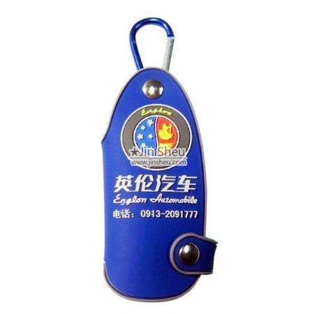 custom rubber logo car key holders