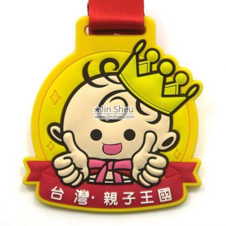 Custom Kids PVC Medals - Custom Kids PVC Medals