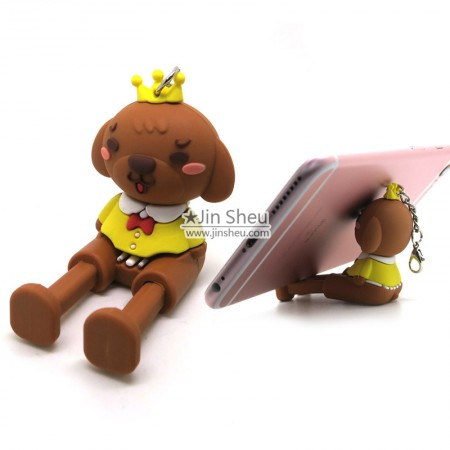 Rubber PVC Cell Phone Stands - Rubber PVC Cell Phone Stands