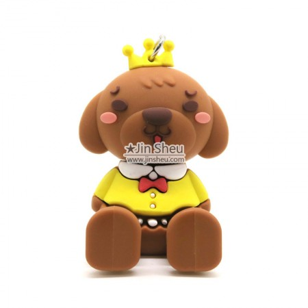 Cute Dog Puppy Smartphone Stand - PVC rubber smartphone stands