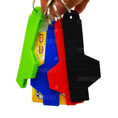 wholesale silicone band keychain