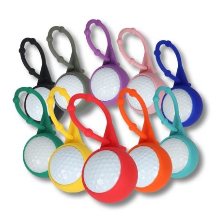 wholeale silicone golf ball sleeve holders