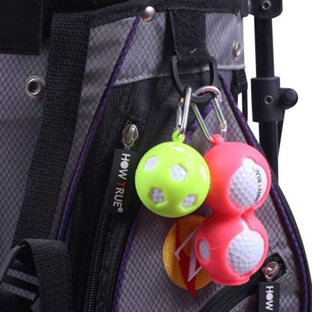 promotional silicone golf ball holder