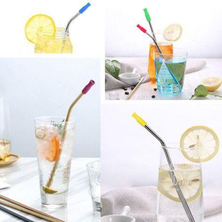 Silicone Straw Tips/ Silicone Nozzles - Silicone Straw Tips
