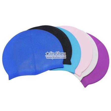 custom printing silicone swin caps