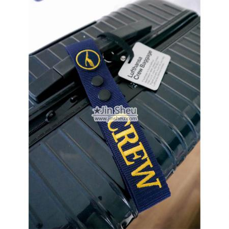 Embroidered Luggage Crew Tags - Embroidered Luggage Crew Tags