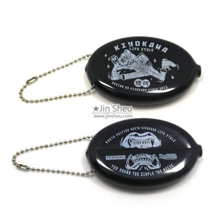 rubber squeeze coin holder