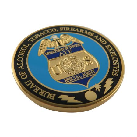 Die Struck Brass Coins - Customized Die Stuck Brass Challenge Coin