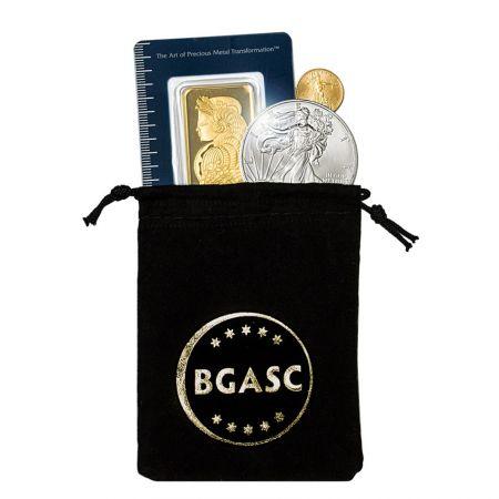 Velvet Bag for Challenge Coin