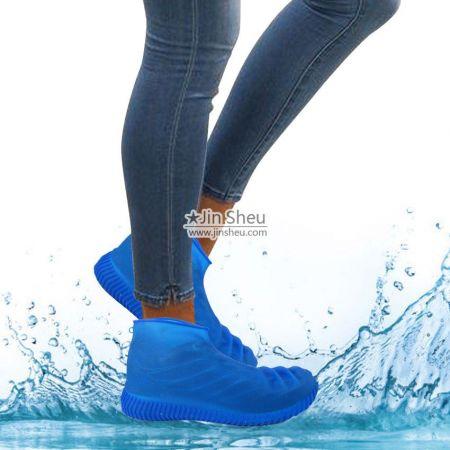 Silicone Rain Boot Shoe Covers - Silicone Rain Boot Shoe Covers