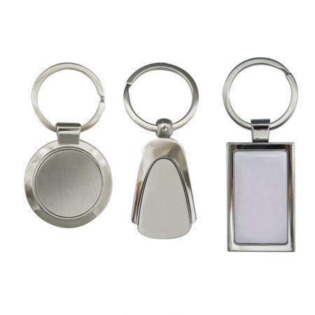 Metal Keychains (Open Design) - Open designed metal keyrings