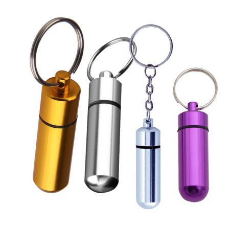 Pill Holders & Whistle Keyrings - High Quality Pill Holder