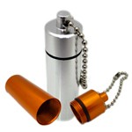 Pill Holders & Whistle Keyrings - High Quality Pill Holder