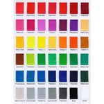 Color Charts - Free dye fee for stock colors