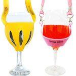 Wine Glass Holder Necklaces - Custom Wine Glass Holder Necklace
