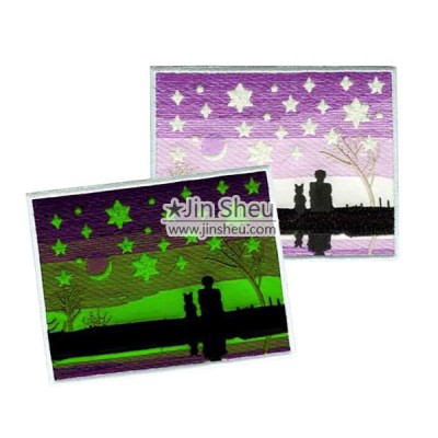 Luminous Patches and Reflective Patches - Luminous Glowing Embroidery Patches
