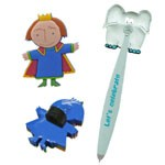 Wiggle Pens & Pencil Toppers - Pens & Pencil Toppers
