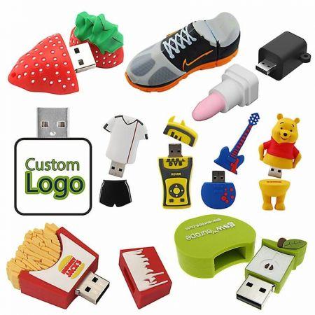 Soft PVC USB - Soft PVC USB