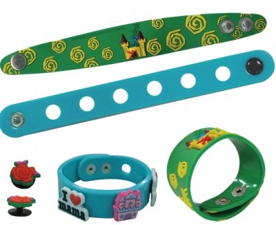 Soft PVC Wristbands