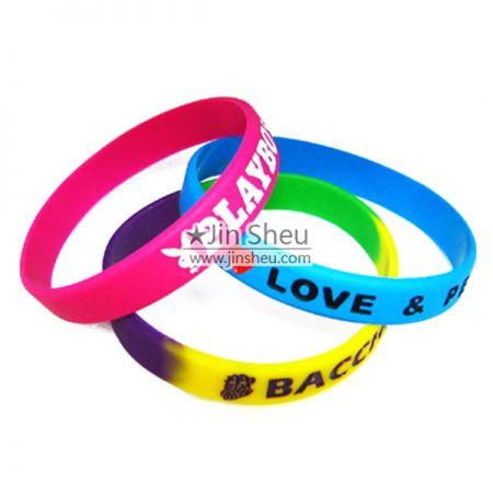 Silicone Bracelets - Promotional Silicone Bracelets