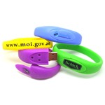 Silicone USB Bracelets - colourful usb and bracelet 2 in 1
