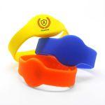 RFID Silicone Wristbands - colourful RFID bracelets