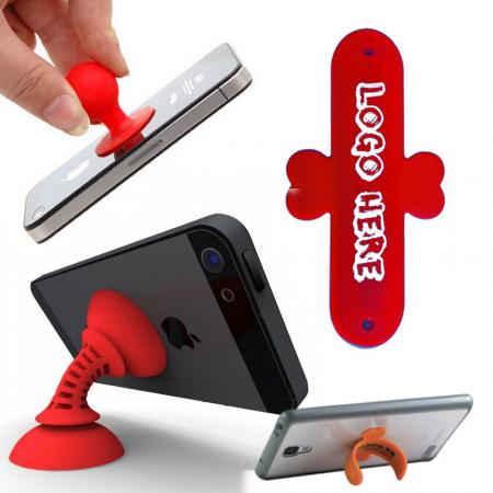 Silicone Mobile Phone Stands - Silicone Mobile Phone Stands