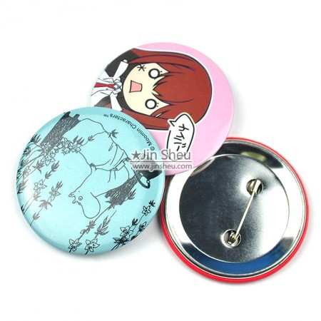 Button Badges, Tin Badges - Make your own button badges with different attachments!