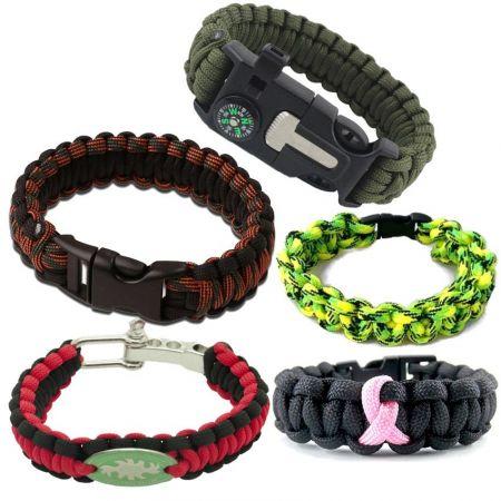 Paracord Bracelets - Paracord Survival Bracelets