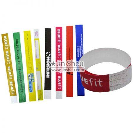 Einweg-Tyvek-Armbänder - Einmalgebrauchs-Tyvek-Armbänder