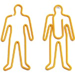 Bright & Vivid Paper Clips - Customized paper clips are available in bright colors, and in many fun and unique shapes